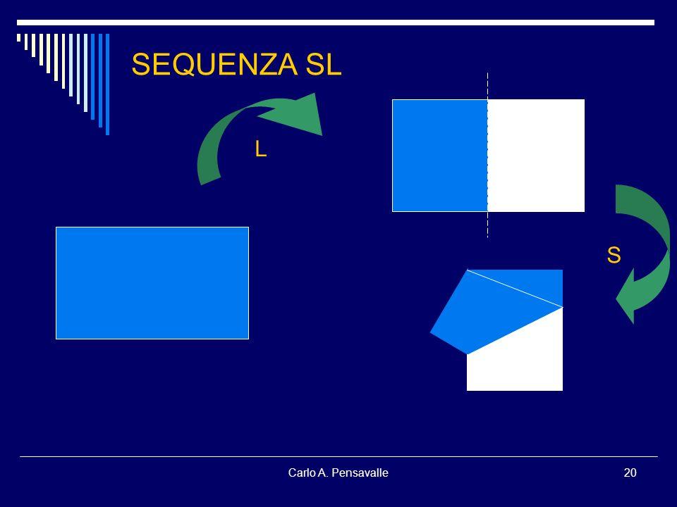Carlo A. Pensavalle20 SEQUENZA SL L S