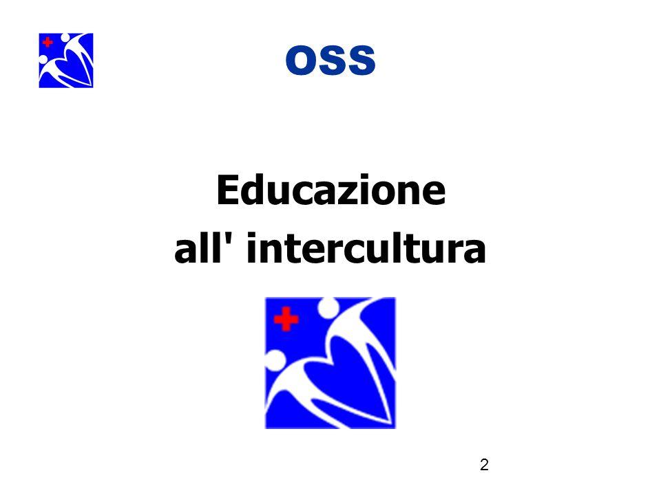 3 OSS Gli OSS si occupano di svantaggiati, vulnerabili, oltre ogni distinzione culturale o religiosa o...
