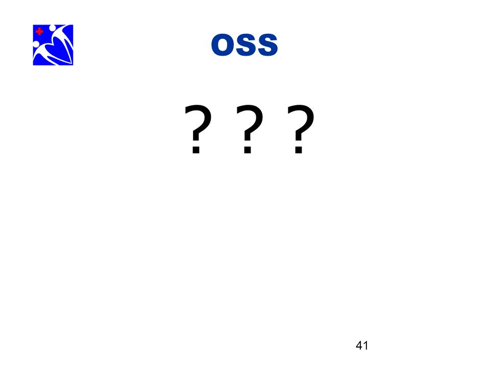41 OSS. ? ? ?