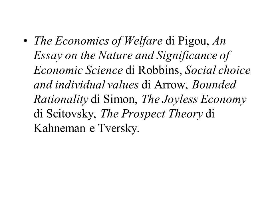 Dai tempi di Aristotele, scrive Sen, fino al Settecento, la scienza economica fu intesa come filosofia, filosofia pratica per lesattezza; e lo stesso Smith, filosofo di formazione, continuò ad assegnare grande valore alla morale.