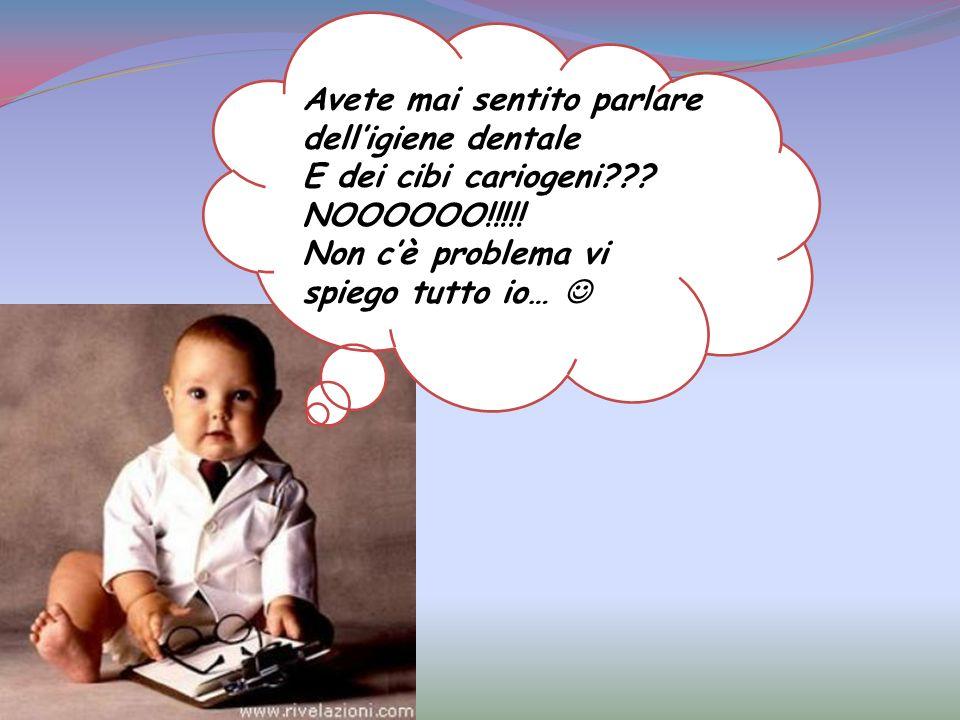 Lalimentazione riveste un ruolo importante nella prevenzione della carie dentaria e non solo. Infatti errori alimentari possono determinare la compars