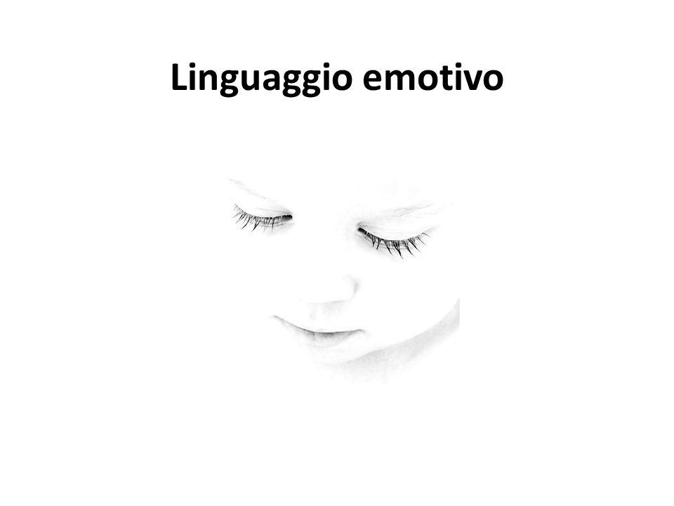 Linguaggio emotivo