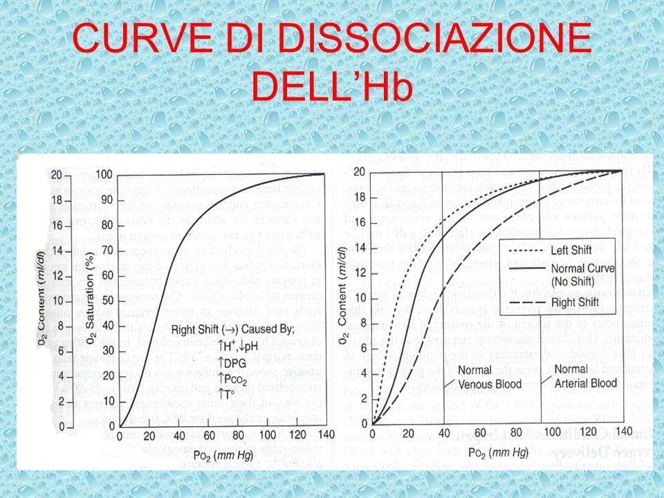E LA TRASFUSIONE E INDICATA VO 2 inferiore a 100 ml/min/m 2 Indice di estrazione dellossigeno pari a 0.5 in pz con bassa gittata cardiaca