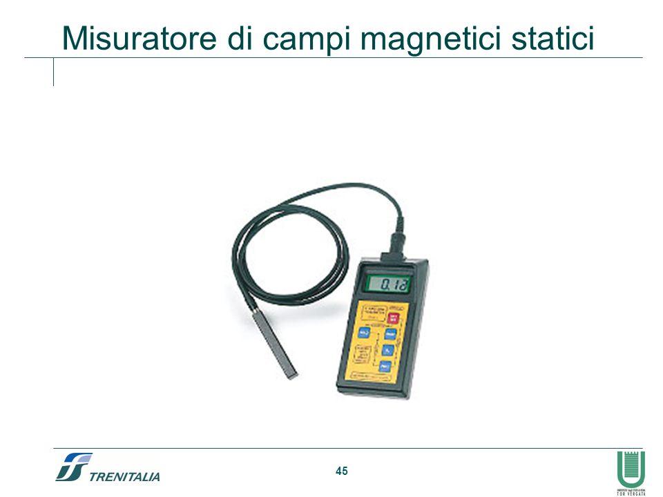 45 Misuratore di campi magnetici statici