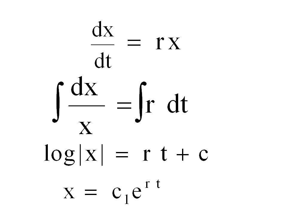x Separazione delle variabili