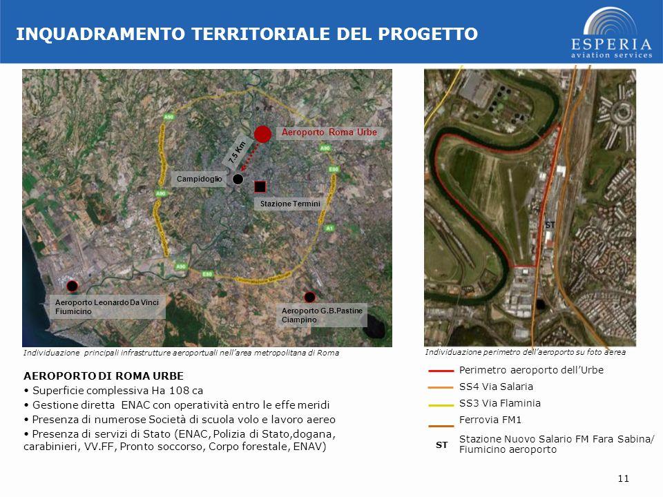 Campidoglio Aeroporto Roma Urbe Stazione Termini Aeroporto G.B.Pastine Ciampino Aeroporto Leonardo Da Vinci Fiumicino Perimetro aeroporto dellUrbe SS4