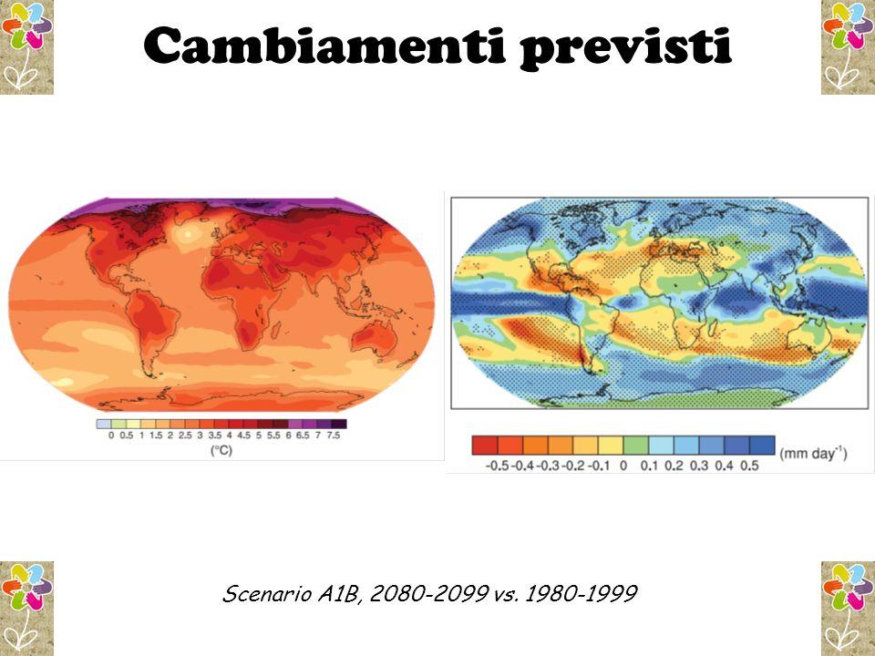 Scenario A1B, 2080-2099 vs. 1980-1999