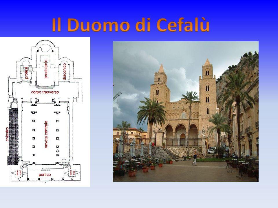 Il Duomo di Cefalù secondo la leggenda, sarebbe sorto in seguito al voto fatto al Santissimo Salvatore da Ruggero II.