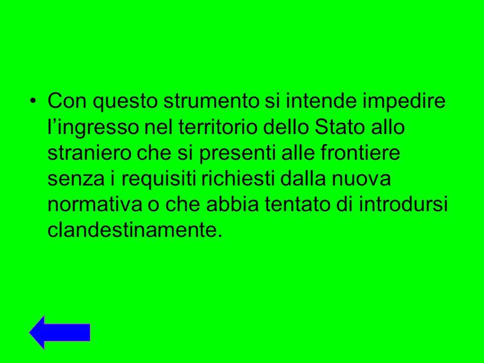 Daccordo con i paesi dorigine verranno predisposte apposite liste a cui potranno iscriversi i lavoratori stranieri che intendono fare ingresso in Italia per motivi di lavoro.