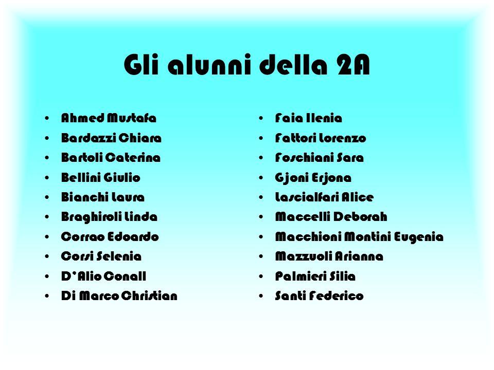 Progetto di educazione alimentare e di educazione del gusto svolto dalla classe 2°A A.s. 2004 - 2005 Prof. Toccafondi Loredana