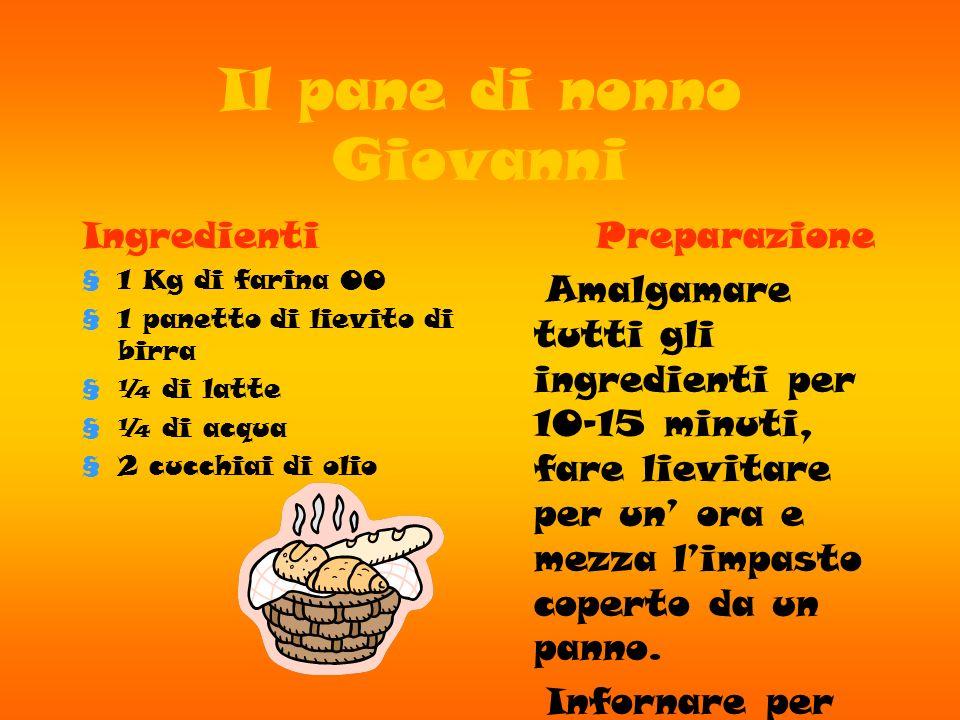 Castagnaccio di nonna Carla Ingredienti Farina dolce Acqua Sale Pinoli Uvetta Olio Rosmarino Preparazione Si prende la farina dolce si aggiunge lacqua