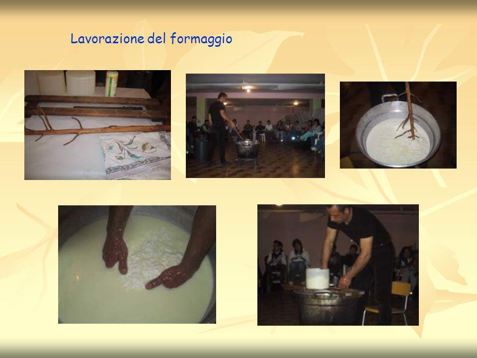 Lavorazione del formaggio
