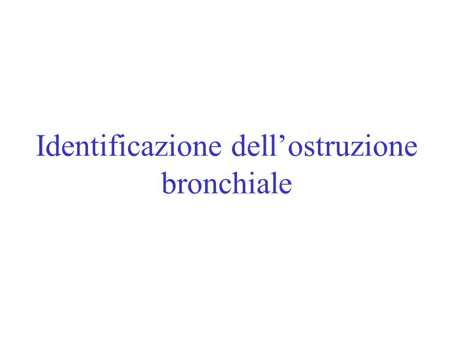 Identificazione dellostruzione bronchiale