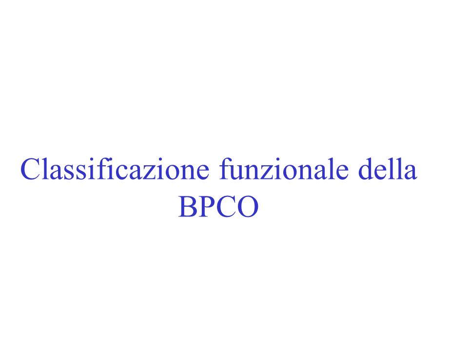 Classificazione funzionale della BPCO
