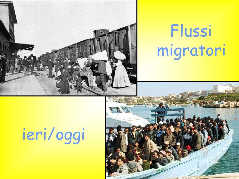 Quando ad emigrare erano gli italiani DA DOVE SI PARTIVA DA DOVE SI PARTIVA IERIOGGI Al giorno doggi gli italiani emigrati allestero sono 4 028 370.