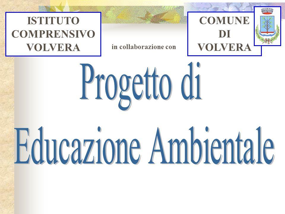 Progetto di educazione ambientale in tema di: RIFIUTI RISPARMIO ENERGETICO DEI PLESSI RISPARMIO IDROPOTABILE DEI PLESSI