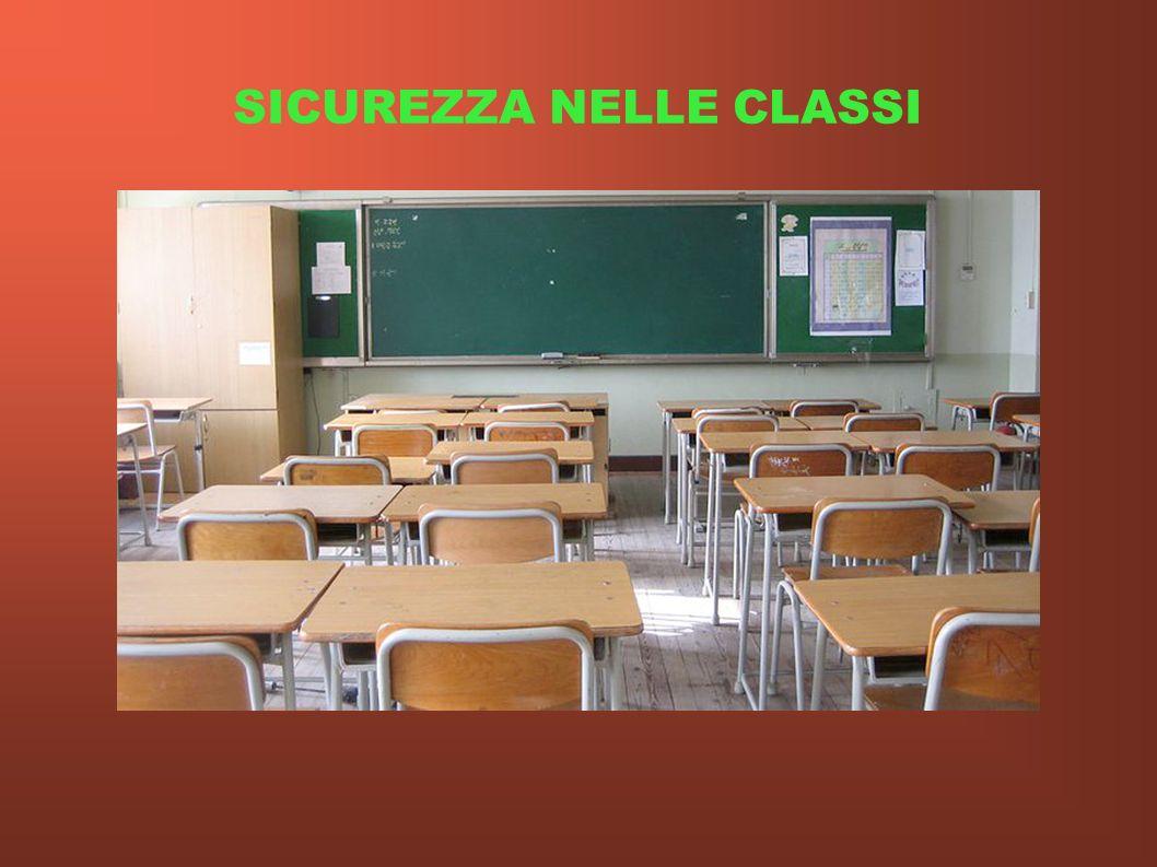 SICUREZZA NELLE CLASSI