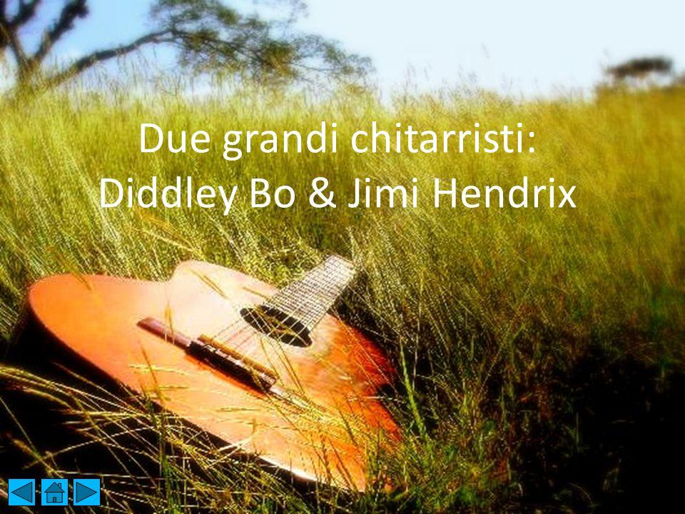 Due grandi chitarristi: Diddley, Bo e Jimi Hendrix Due grandi chitarristi: Diddley Bo & Jimi Hendrix