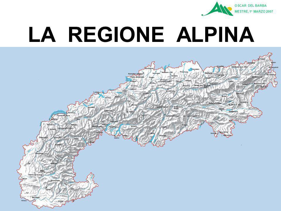LA REGIONE ALPINA OSCAR DEL BARBA MESTRE, 1° MARZO 2007