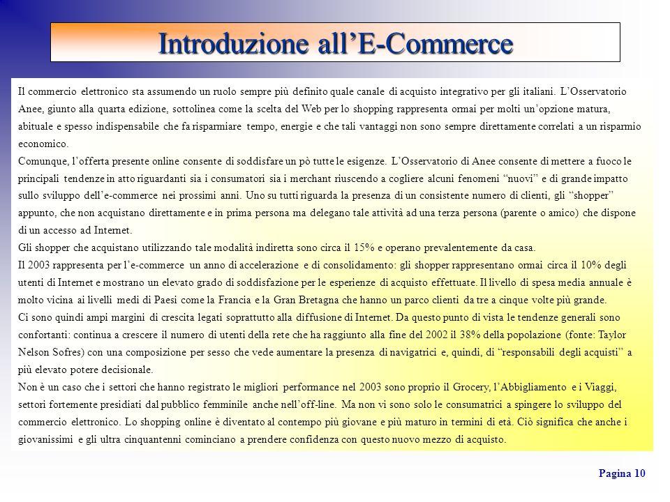 Il commercio elettronico sta assumendo un ruolo sempre più definito quale canale di acquisto integrativo per gli italiani.