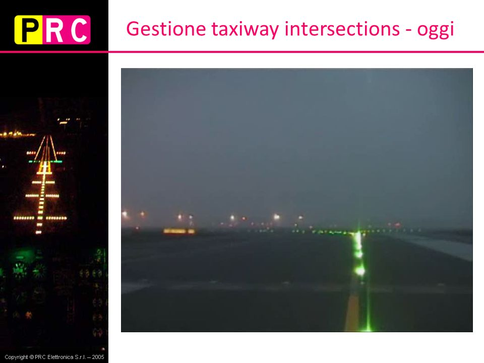 Gestione taxiway intersections - futuro