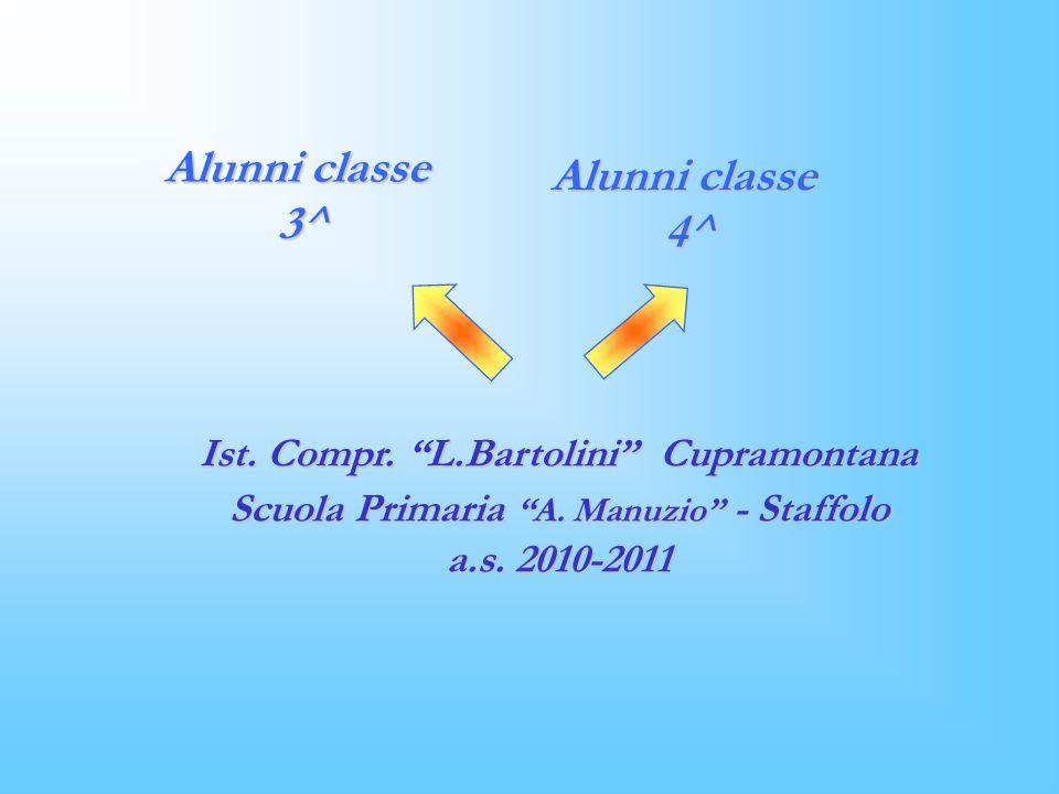 Ist.Compr. L.Bartolini Cupramontana Scuola Primaria A.