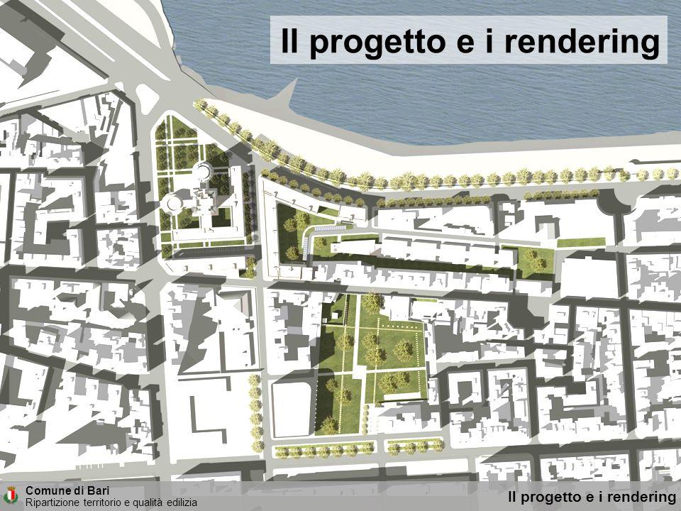 Comune di Bari Ripartizione territorio e qualità edilizia Nuovi uffici comunali: il progetto