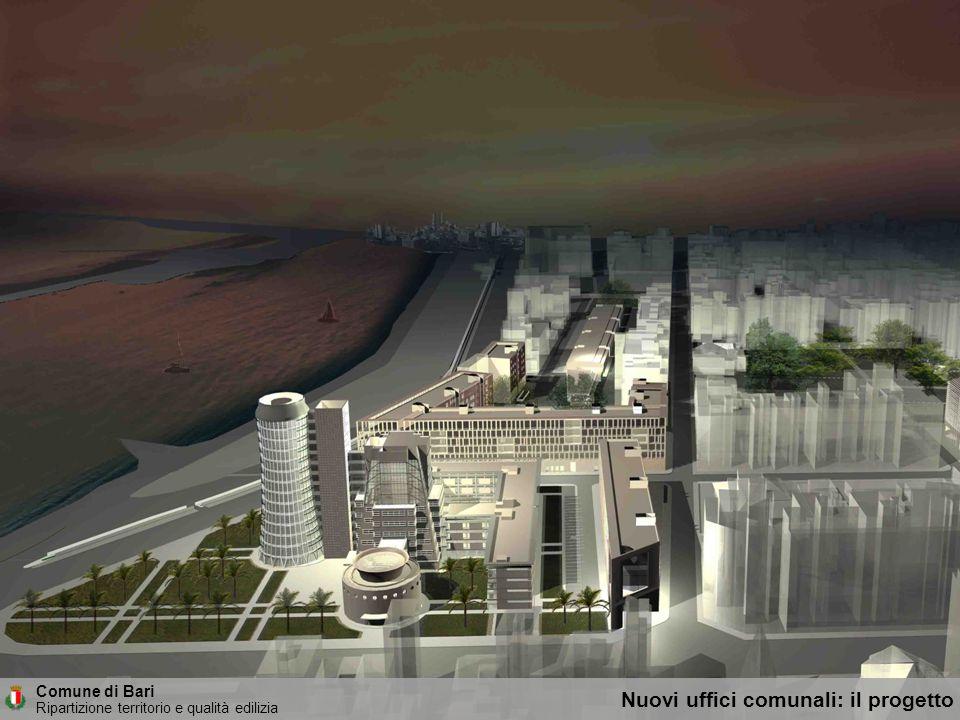 Comune di Bari Ripartizione territorio e qualità edilizia Il parco sullarea dellex Gasometro