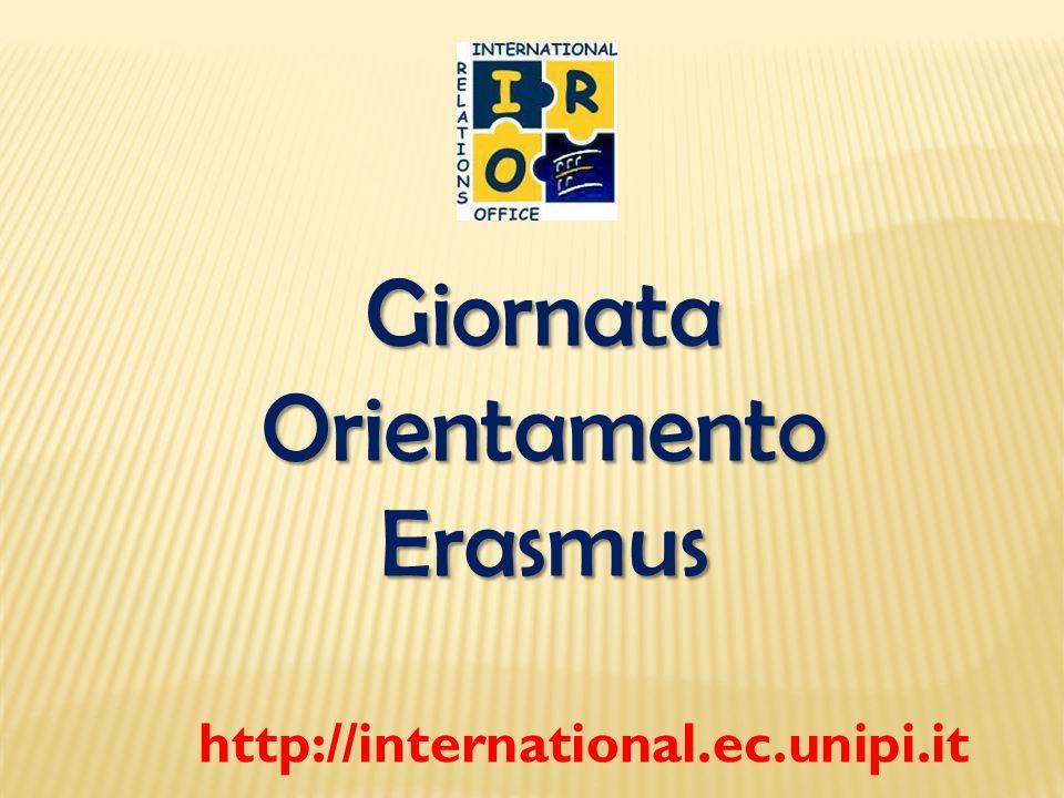 Cosè il programma Erasmus.LErasmus è unopportunità per trascorrere un periodo formativo allestero.