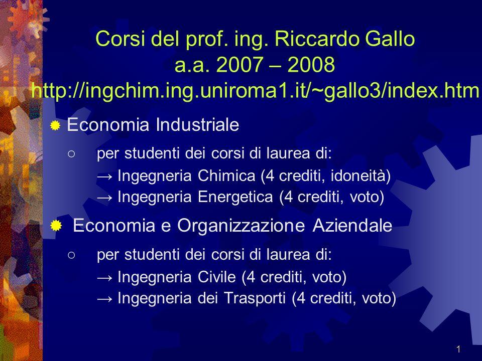 42 Conto economico (schema civilistico sintetico): (9 apr 2008)