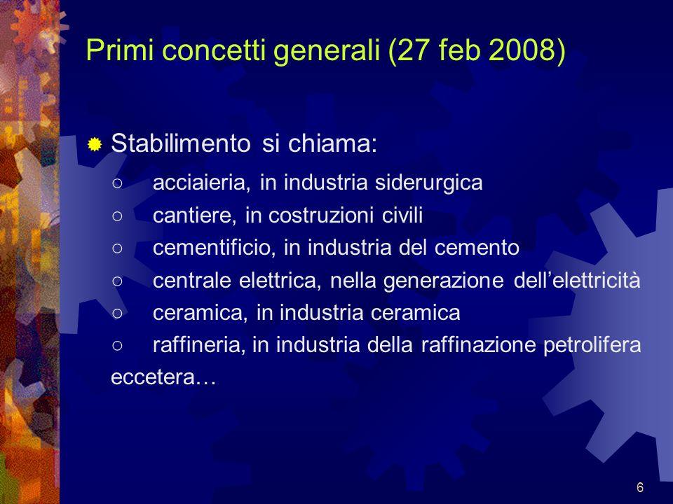 47 Conto economico (schema civilistico): (16 apr 2008)