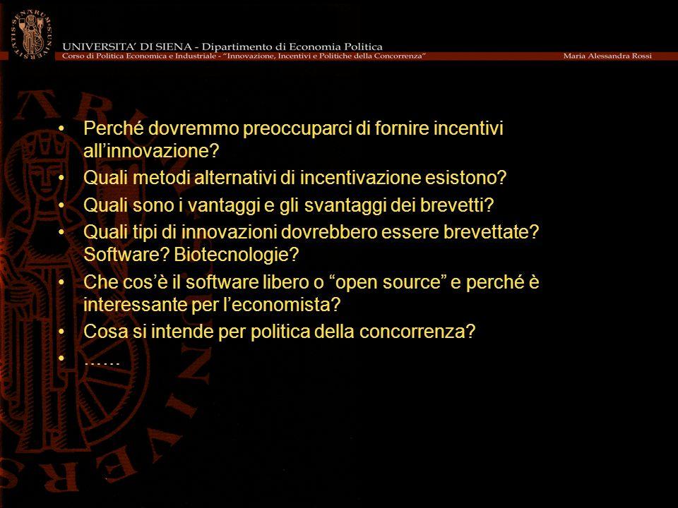 Governance Un modello di produzione a bazar.