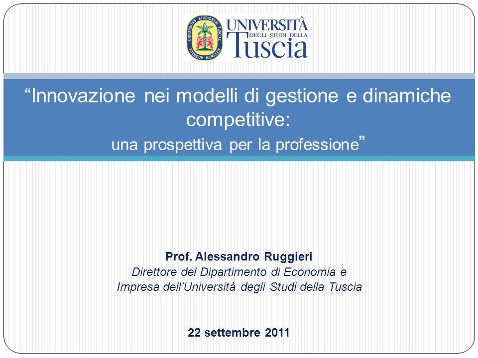 Temi trattati: Prof.Alessandro Ruggieri - 22 Settembre 2011 1.