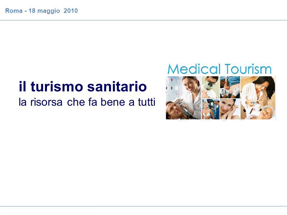 il caso del turismo sanitario sull isola di Ischia Roma - 18 maggio 2010 il turismo sanitario la risorsa che fa bene a tutti