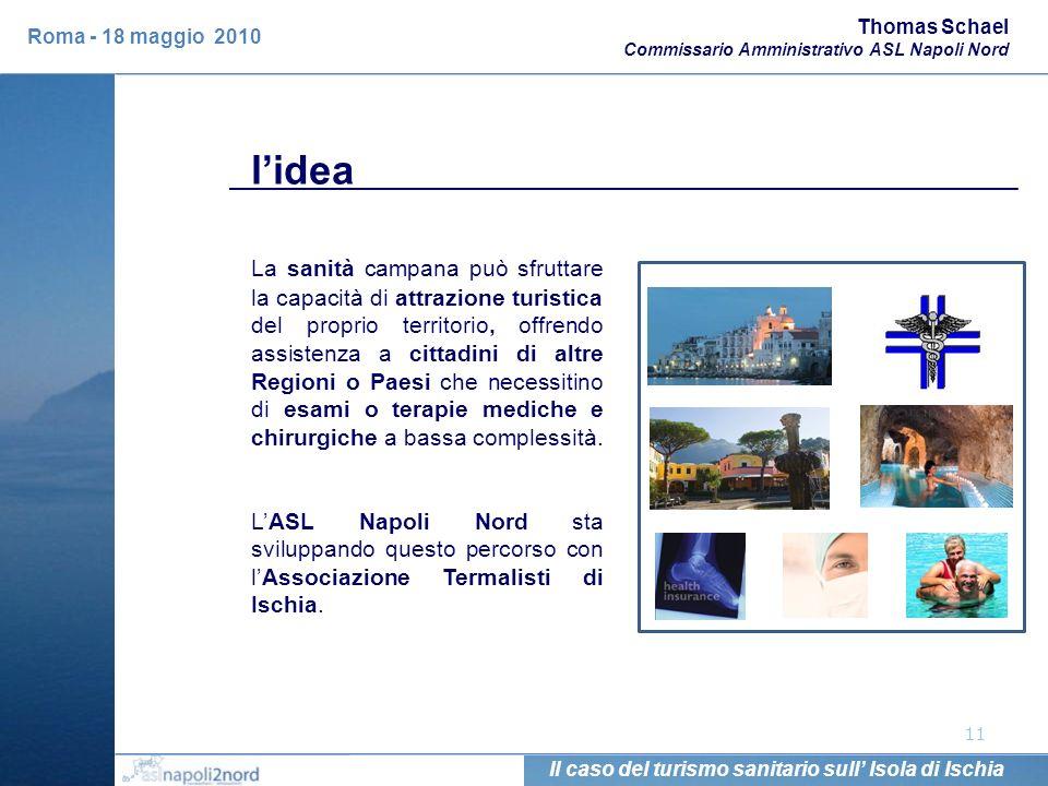 11 La sanità campana può sfruttare la capacità di attrazione turistica del proprio territorio, offrendo assistenza a cittadini di altre Regioni o Paes