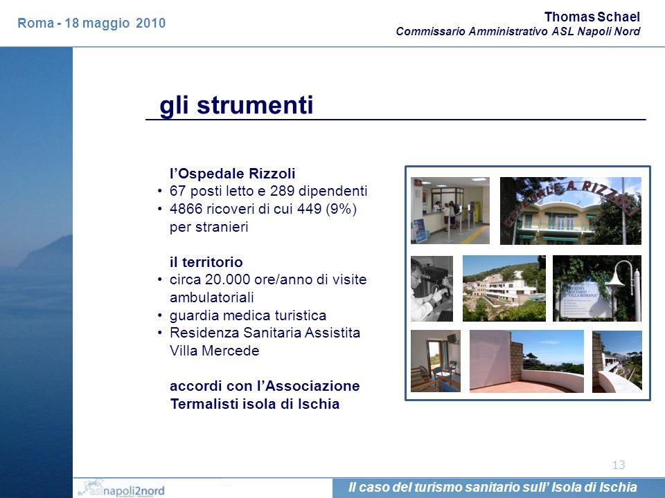 13 lOspedale Rizzoli 67 posti letto e 289 dipendenti 4866 ricoveri di cui 449 (9%) per stranieri il territorio circa 20.000 ore/anno di visite ambulat