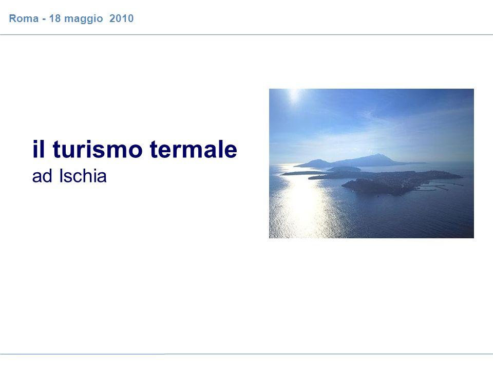 il caso del turismo sanitario sull isola di Ischia Roma - 18 maggio 2010 il turismo termale ad Ischia