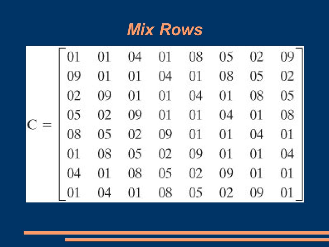 Mix Rows