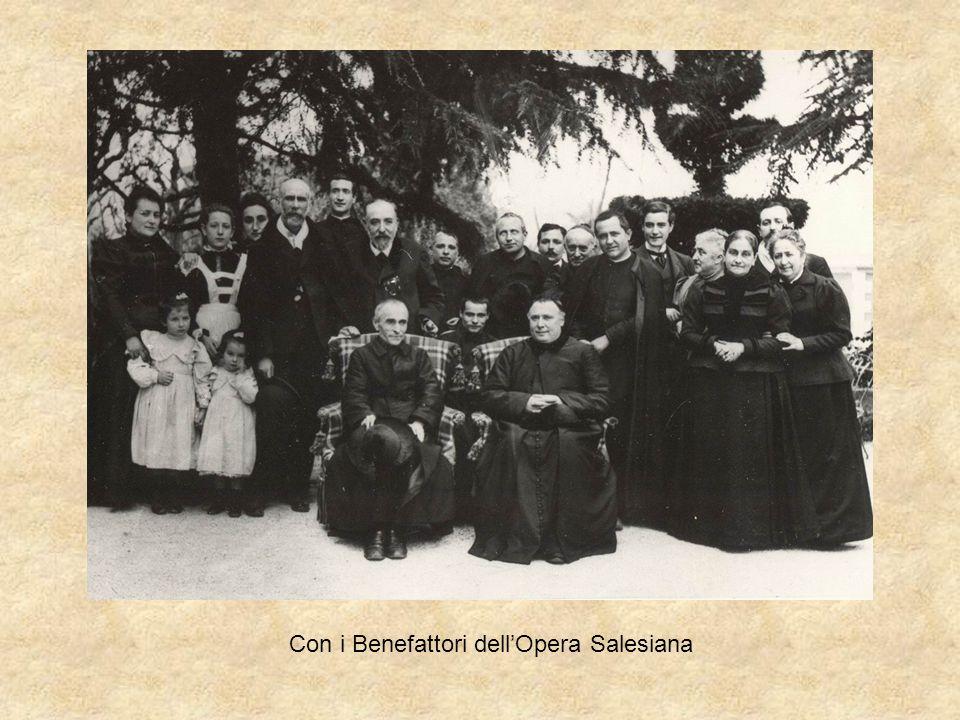 Con i Benefattori dellOpera Salesiana