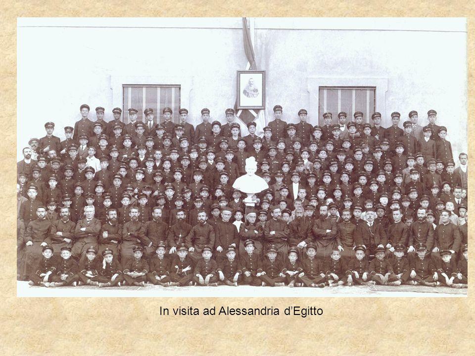 In visita ad Alessandria dEgitto