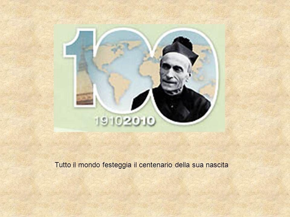 Tutto il mondo festeggia il centenario della sua nascita