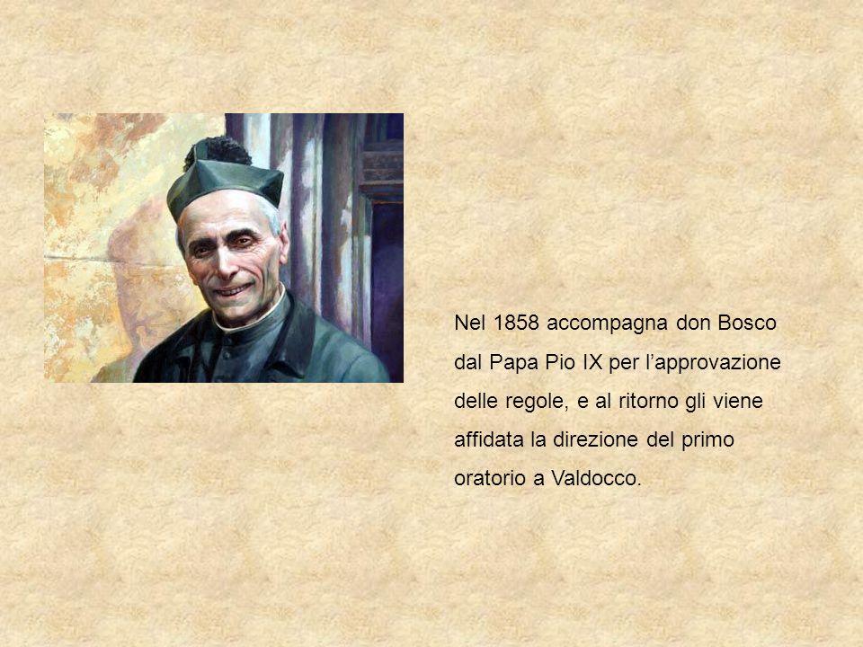 Don Michele Rua nella Gloria del Bernini