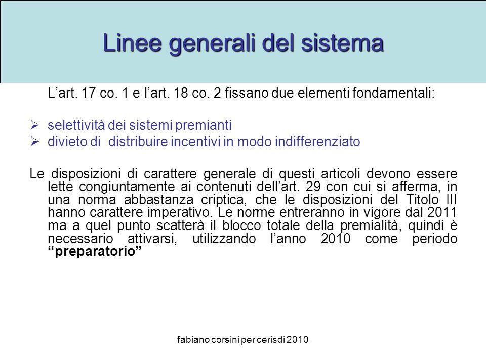 fabiano corsini per cerisdi 2010 Linee generali del sistema Lart.
