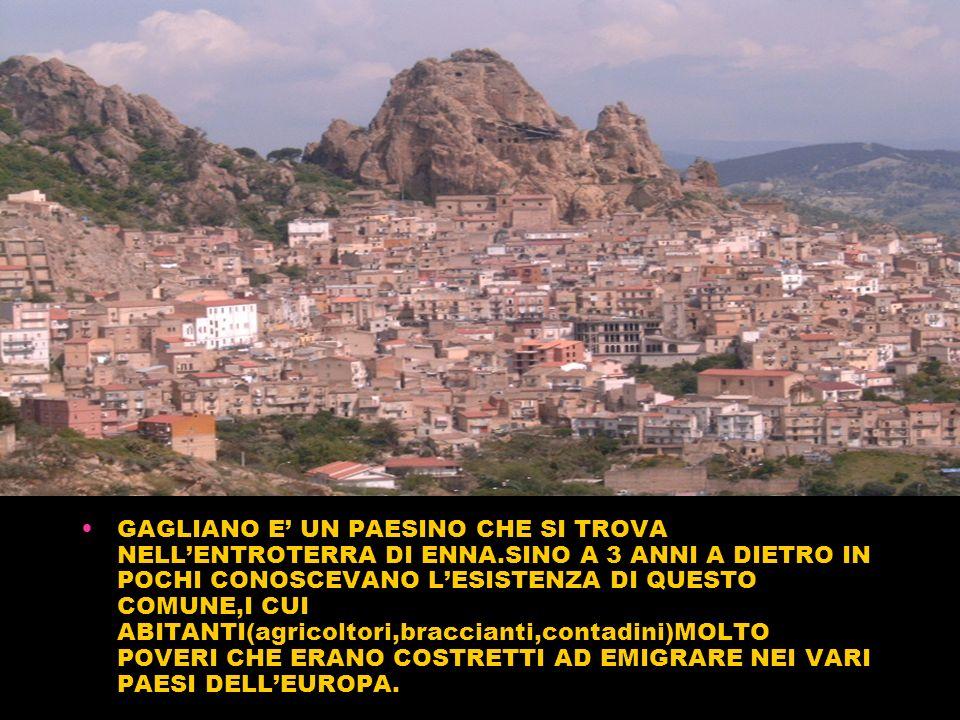 ENRICO MATTEI E LENI A GAGLIANO