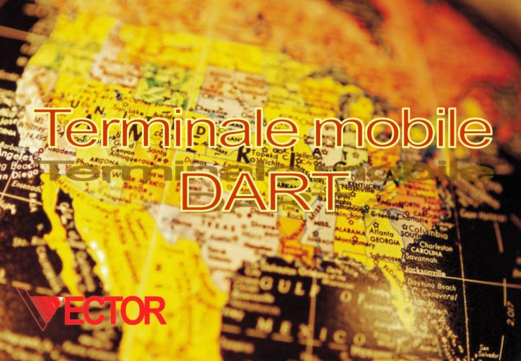 Il terminale DART Registra le informazioni su supporti ROM rimovibili, oppure le trasmette attraverso connessioni GSM/GPRS, rileva il posizionamento geografico tramite GPS e si integra facilmente con i Sistemi Informativi aziendali.