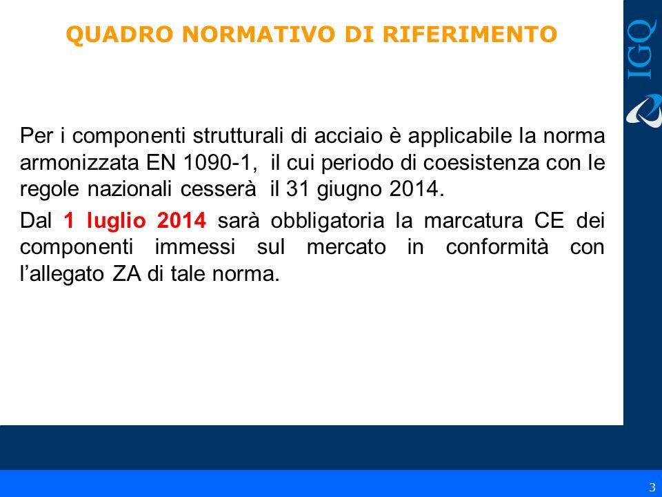 4 QUADRO NORMATIVO DI RIFERIMENTO Regolamento 305/2011 Art.