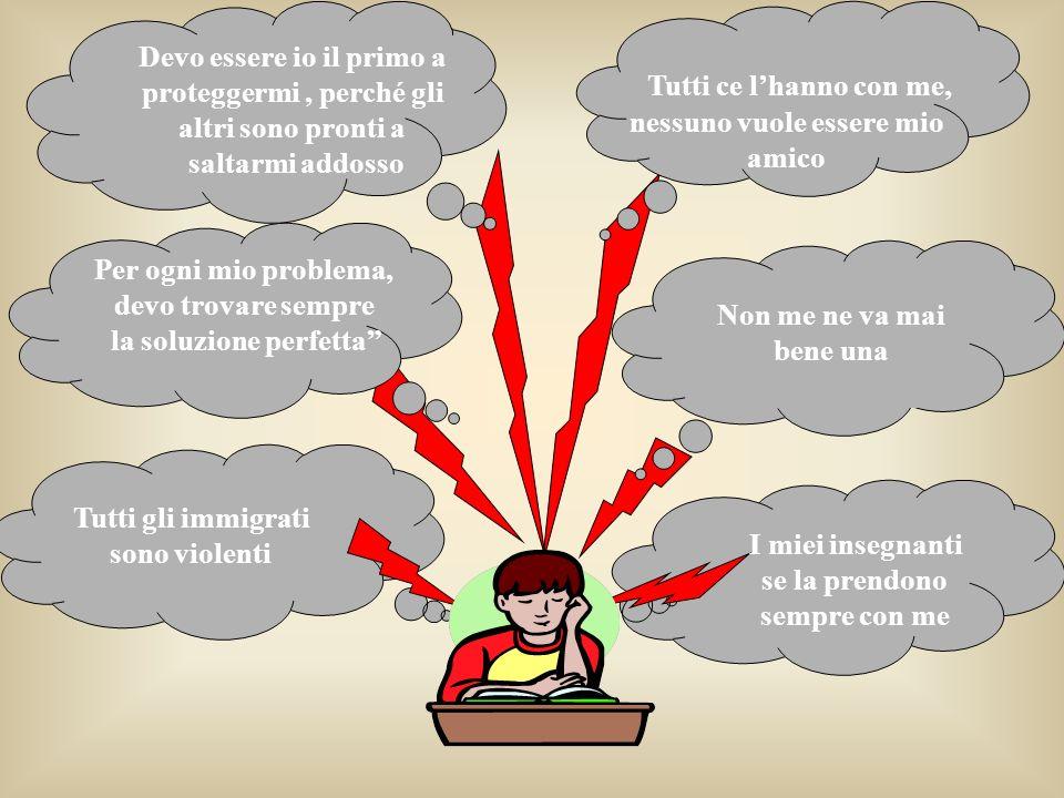 Fattori cognitivi e comportamento Ipotesi: la sofferenza emotiva è causata dalle modalità di codifica e interpretazione degli eventi piuttosto che dal