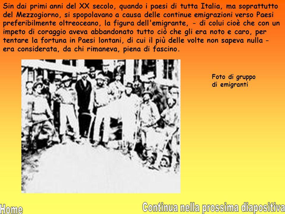 Dall'esame dei dati relativi al periodo che va dal 1946 al 1960, si può constatare che l'emigrazione italiana permanente ha registrato 2.618.068 espat