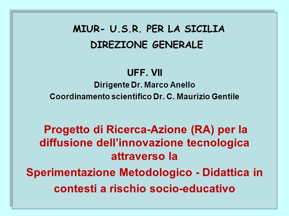 MIUR- U.S.R.PER LA SICILIA DIREZIONE GENERALE UFF.