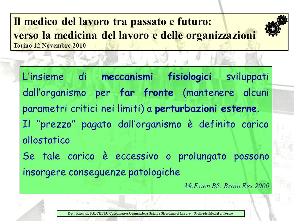 Dott.Riccardo FALCETTA Responsabile Servizio di Medicina del Lavoro A.S.O.